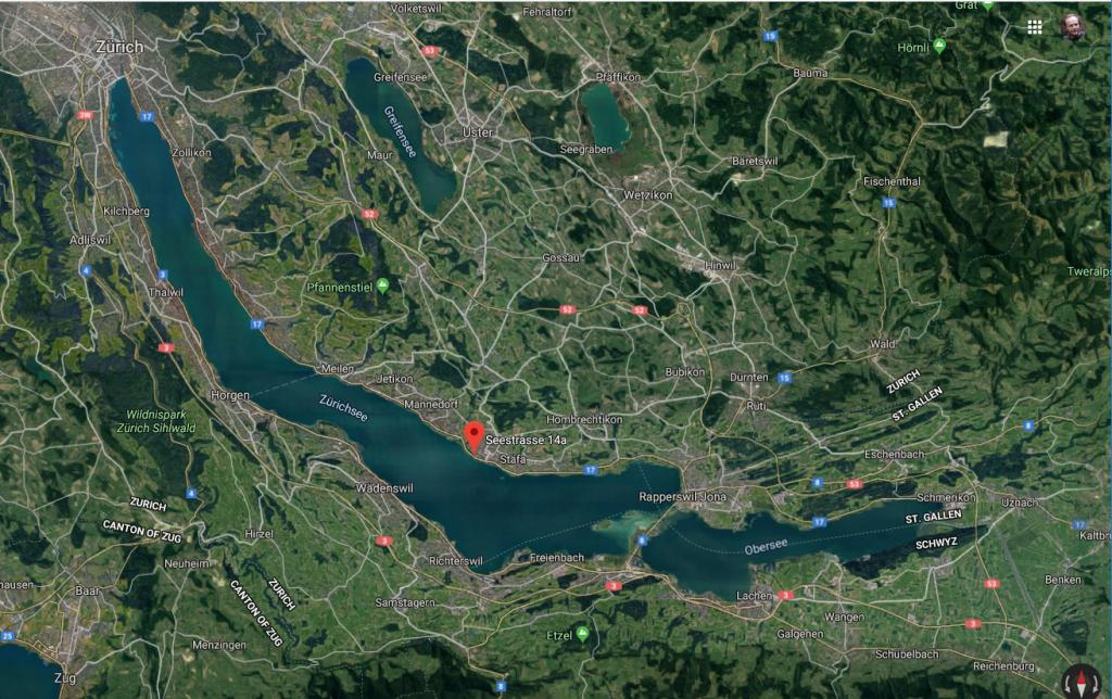 Praxis Stäfa Karte Satellit